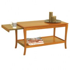 Sutcliffe Trafalgar Sofa Table with Pull-Out Heat-Resistant Sides
