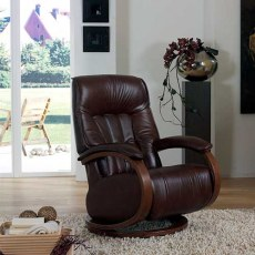 Himolla Mozel Swivel Man. Recliner Cumuly Function Gas Sprung Back Maxi Chair