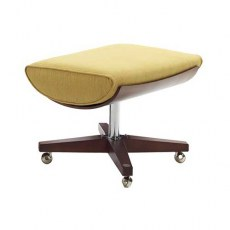 G Plan Vintage The Sixty Two Fabric Footstool