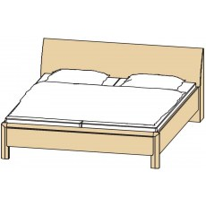 Disselkamp Coretta Comfort Double Bed