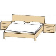 Disselkamp Coretta Double Bed