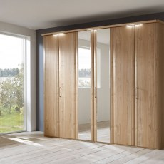 Disselkamp Coretta Wardrobe (3 hinged doors)