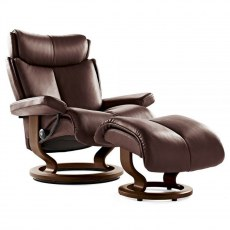 Stressless Magic Large Recliner with Stool