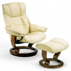 Stressless Mayfair Recliner with Stool