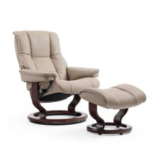 Stressless Mayfair Small Recliner with Stool