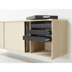 Skovby #733 Wall-mounted Sideboard