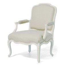 Willis & Gambier Ivory Armchair