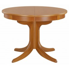 Circular Pedestal Dining Table - Teak