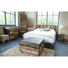 Loft Retro Headboard - 6ft
