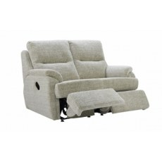 G Plan Hartford Fabric 2 Seater Power Recliner Sofa Double