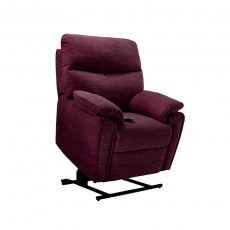 G Plan Henley Fabric Elevate Small Chair with Dual Motor