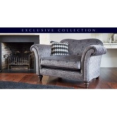 Parker Knoll Etienne Fabric Seater Sofa Fabric Sofas Hunter - Parker knoll egg chair