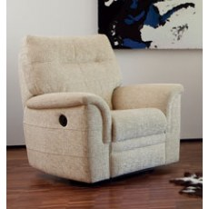 Parker Knoll Hudson Fabric Manual Recliner