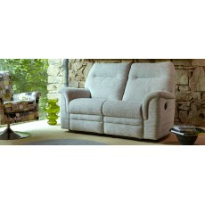 Parker Knoll Hudson Fabric Power 2 Seater Sofa