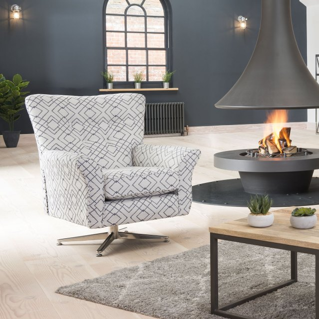 Alstons Alstons Memphis Swivel Chair