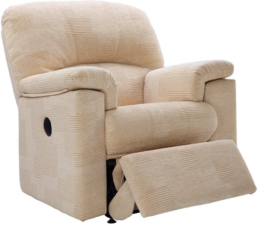 G Plan G Plan Chloe Fabric Small Power Recliner Chair