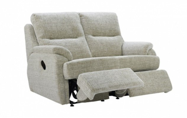 G Plan G Plan Hartford Fabric 2 Seater Recliner Sofa Double