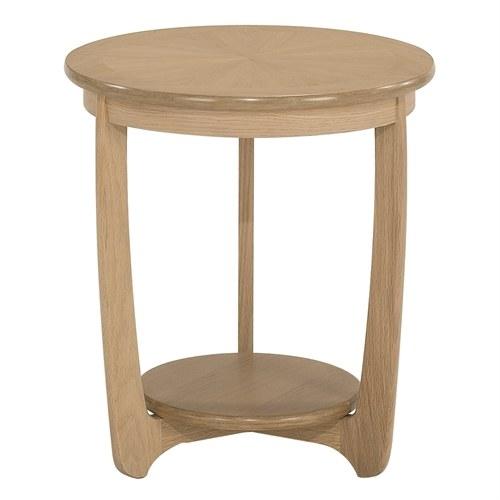 Nathan shades oak sunburst top large round lamp table lamp side nathan nathan shades oak sunburst top large round lamp table aloadofball Image collections