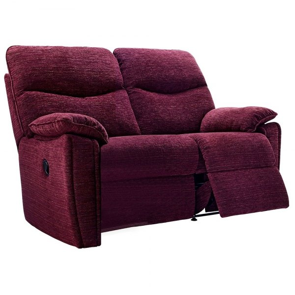 G Plan Henley Fabric 2 Seater Recliner Sofa Double
