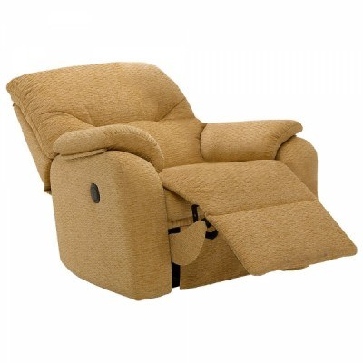 G Plan Mistral Fabric Small Power Recliner Chair   Recliners   Hunter  Furnishing