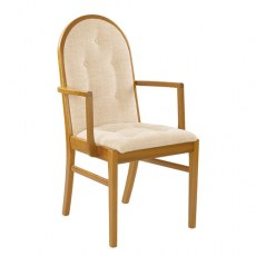 Sutcliffe Trafalgar Upholstered Back & Seat Dining Chair