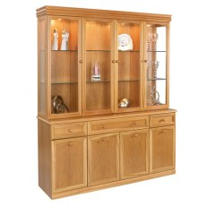 Sutcliffe Trafalgar Display Unit 863B-863T with Mirror Back