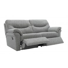 G Plan Washington Fabric 3 Seater Manual Recliner Sofa