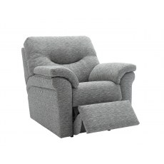 G Plan Washington Fabric Power Recliner Chair