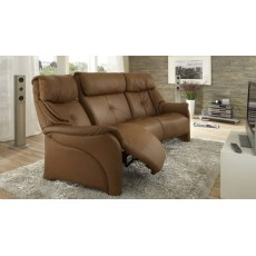 Himolla Curved Chester 3 Seater Sofa With Cumuly Function