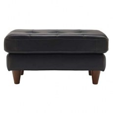 G Plan Vintage The Fifty Nine Leather Footstool