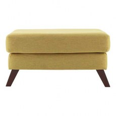G Plan Vintage The Sixty Six Fabric Footstool