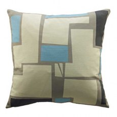 G Plan Vintage Wonky Pixel Blue Scatter Cushion