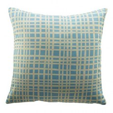 G Plan Vintage Grid Blue Scatter Cushion