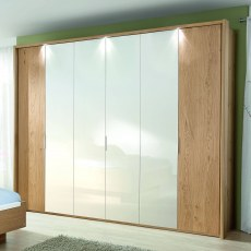 Disselkamp Balance Wardrobe (4 hinged doors)
