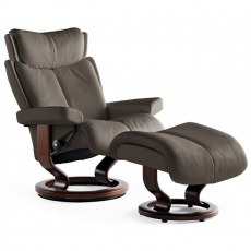 Stressless Magic Medium Recliner with Stool