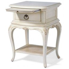 Willis & Gambier Ivory 1 Drawer Bedside table