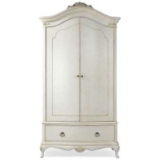 Willis & Gambier Ivory Double Wardrobe