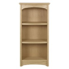 Nathan Shades Oak Mid Single Bookcase