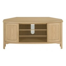 Nathan Shades Oak Shaped Corner TV Unit