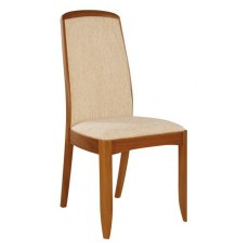 Fully Upholstered Dining Chair  - Teak