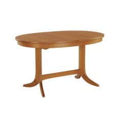 Oval Pedestal Dining Table  - Teak