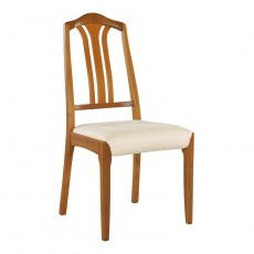 Slat Back Dining Chair - Teak
