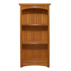 Mid Single Bookcase - Teak