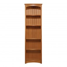 Tall Single Bookcase - Teak