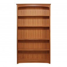 Tall Double Bookcase - Teak