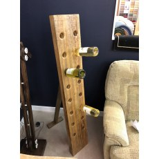 Re-Engineered Wine Bottle Rack