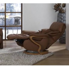 Himolla Chester Swivel Manual Recliner Chair