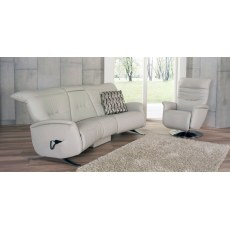 Himolla Cygnet 3 Seater Sofa with Table