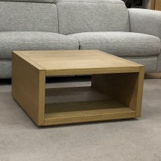 Saunaco Oak Lamp Table