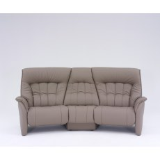 Himolla Rhine Curved Power Recliner Sofa with Table